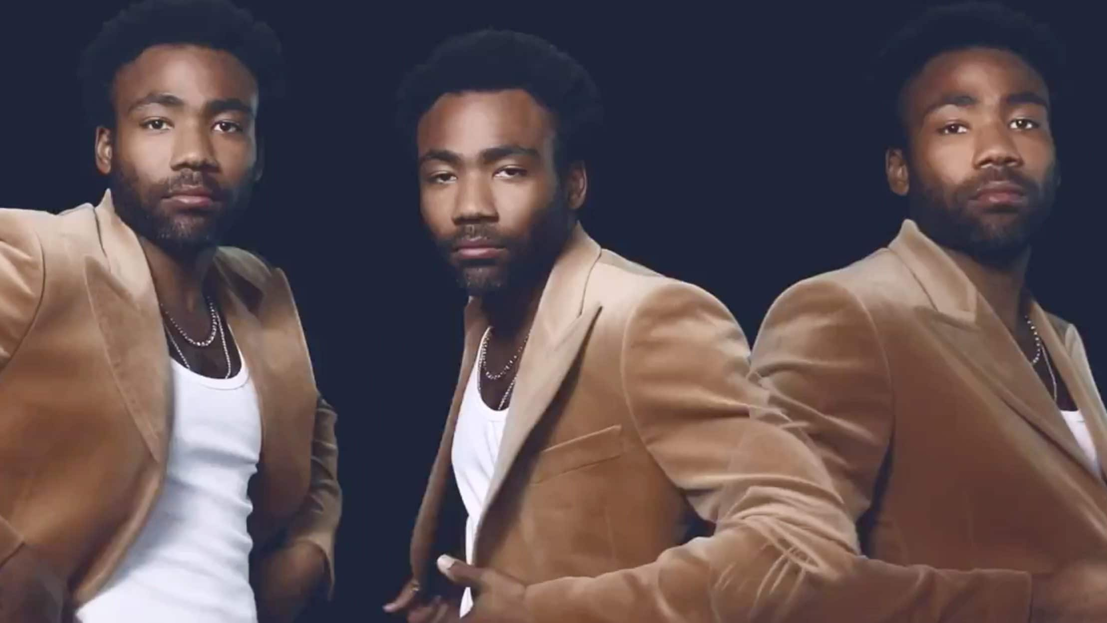 Childish Gambino performs on