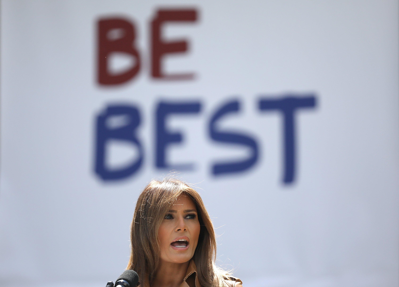 Melania Trump be best thegrio.com