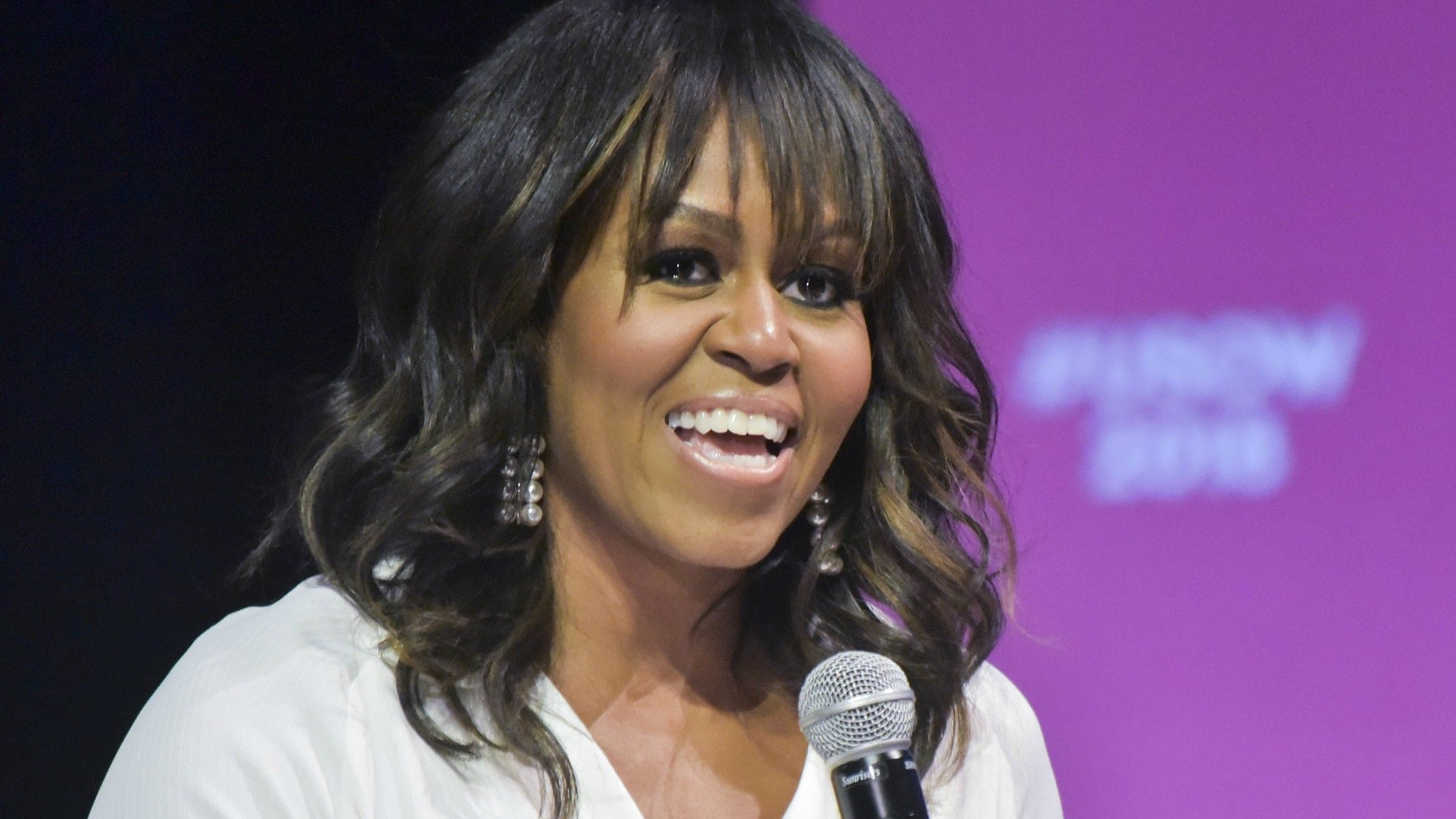 She39s back Michelle Obama reveals cover for