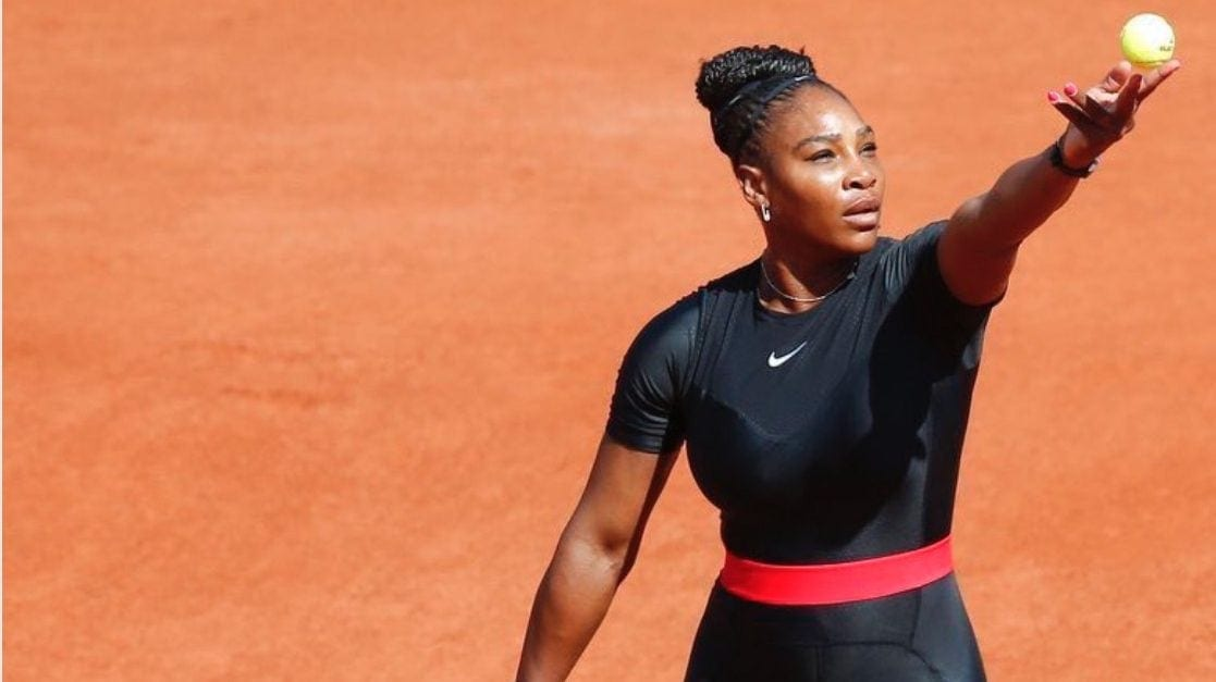 Serena mirrors Black Panther to battle past Pliskova
