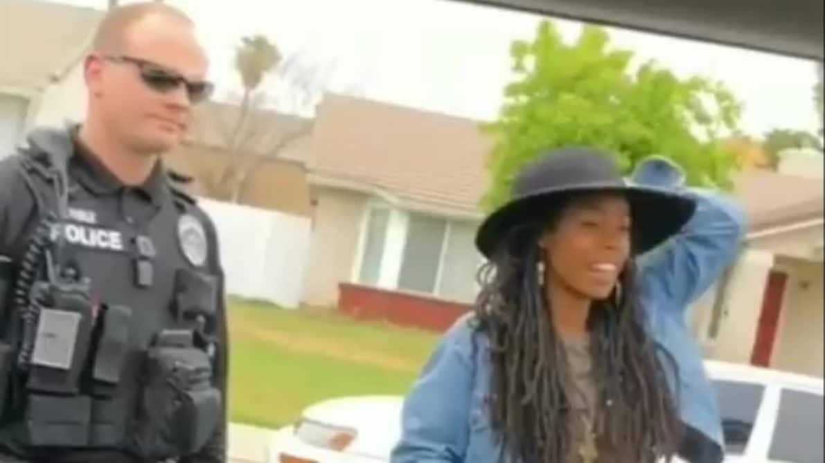 Cops swarm black women renting an AirBnB after neighbor thinks they're burglars