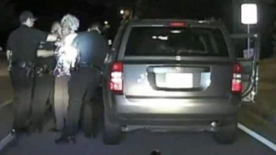 Police drag 65-year-old woman from vehicle at traffic stop