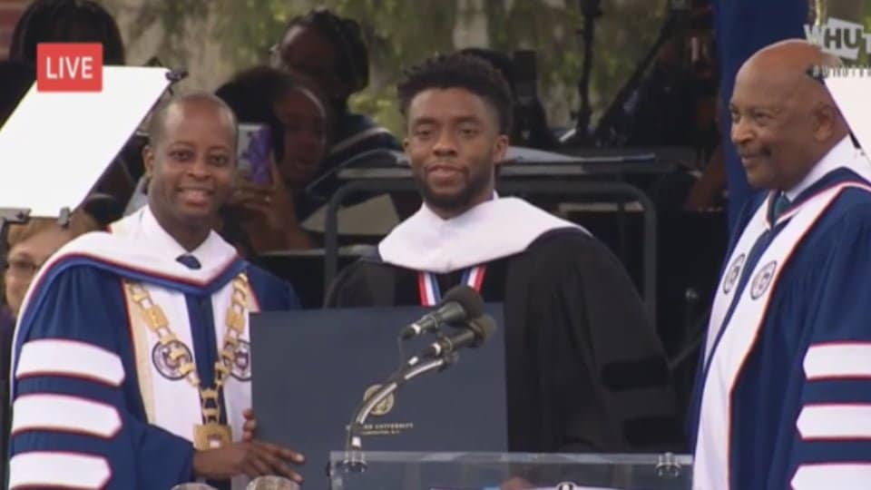 5 Best Quotes from Chadwick Boseman's Howard University speech