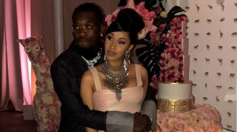 Inside Cardi B And Offset S Glamorous Baby Shower