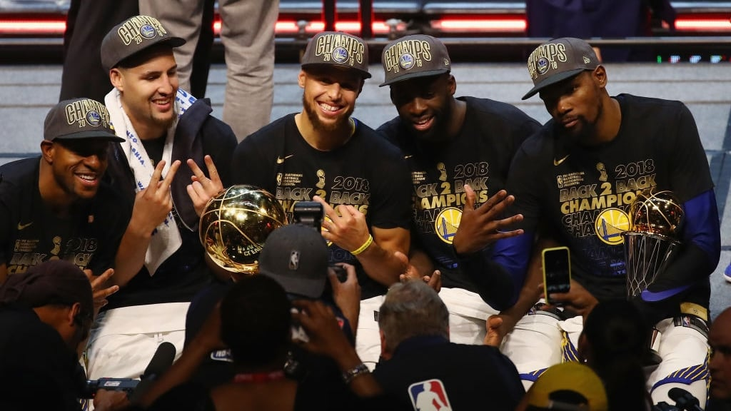 Warriors next aim is fourth title in five National Basketball Association seasons