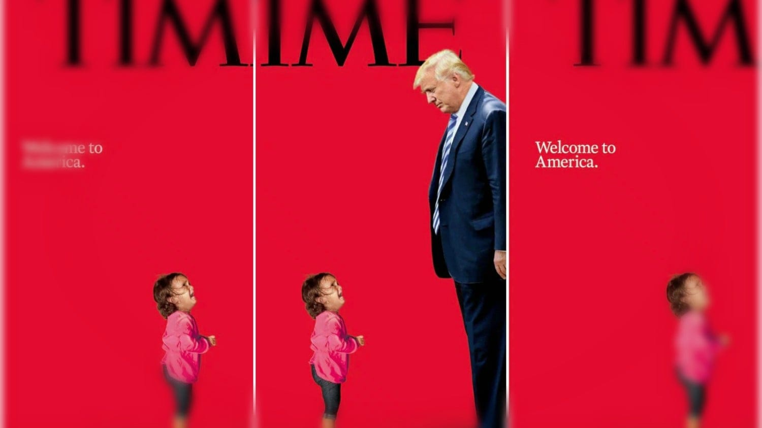 Time magazine forced to clarify cover of crying migrant ...