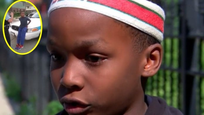 10-year-old boy handcuffed by Chicago police thegrio.com