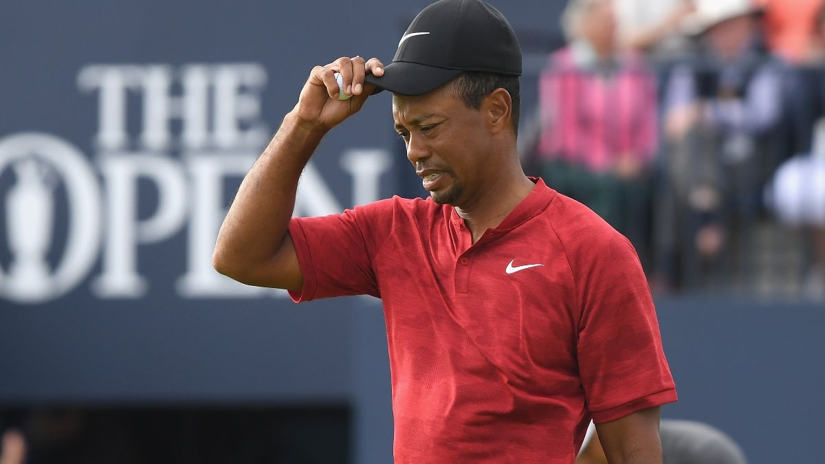 Woods 'blessed' to have chance to win The Open