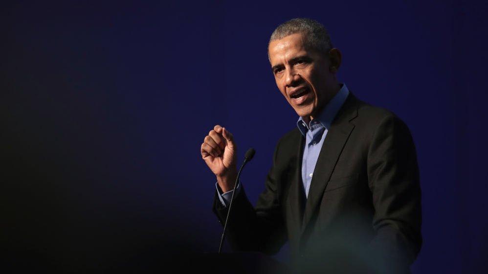 Obama Gives Trump Sharp Rebuke In Mandela Address On Values