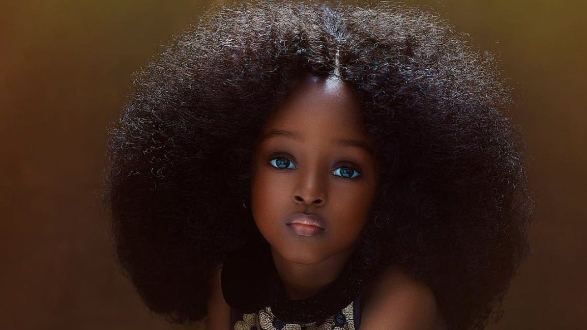 Five-year-old Nigerian is 'world's most handsome girl'