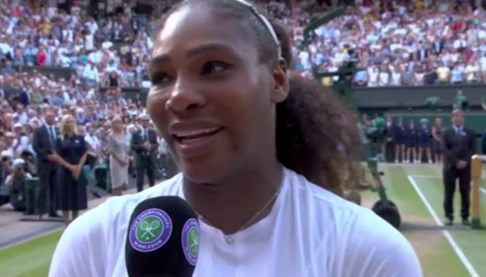 Serena Williams's husband posts emotional tribute to Wimbledon runner-up