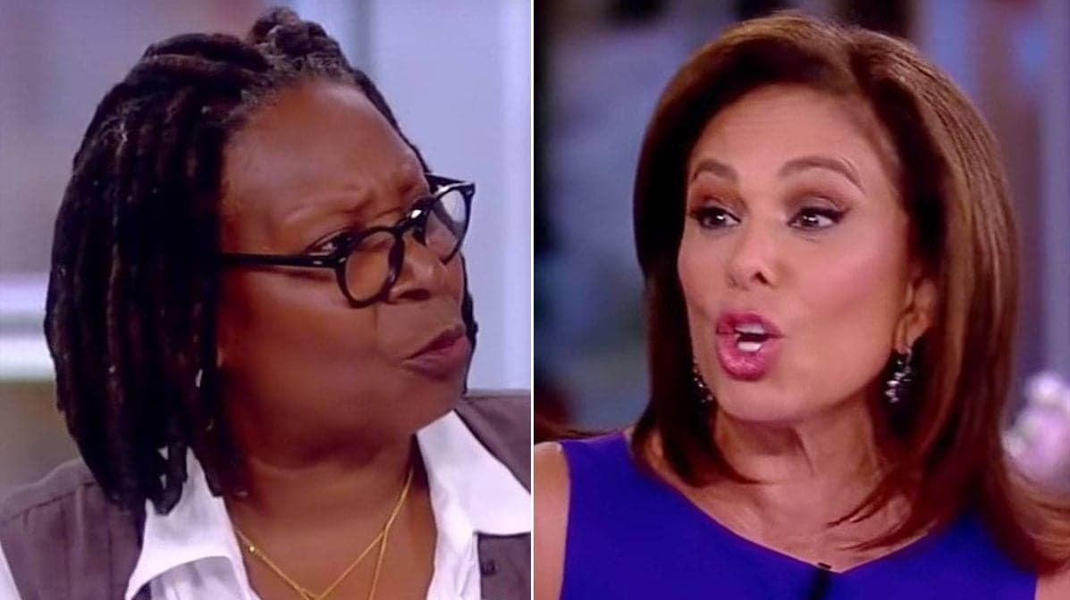 Whoopi Goldberg gives Judge Jeanine a tongue lashing on 'The View'