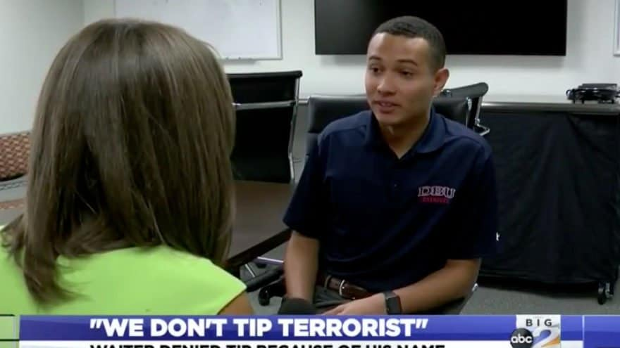 Texas waiter admits 'we don't tip terrorist' receipt was a hoax