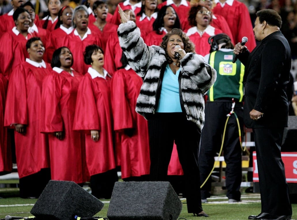Aretha Franklin Super Bowl