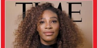 Serena Williams on the cover of Time thegrio.com