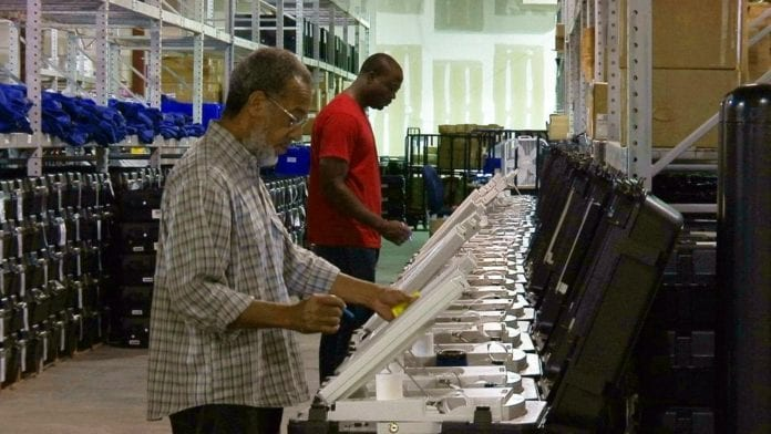Georgia Voting Machines thegrio.com AP