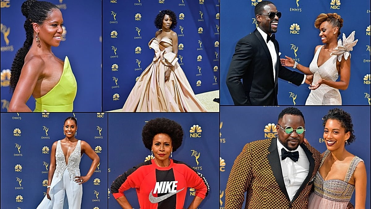 2018 Emmy Awards Red Carpet Photos: Black excellence shines bright : TheGrio