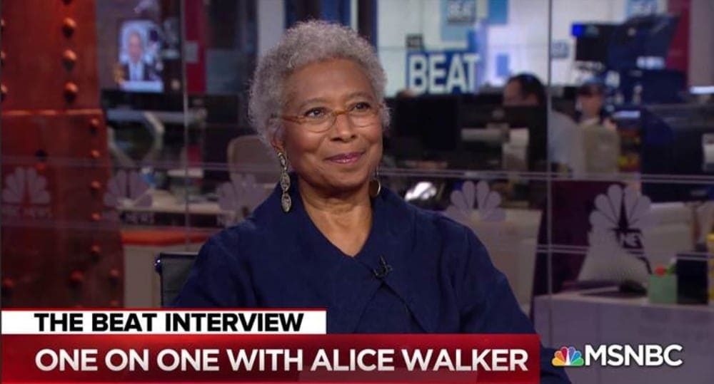 Alice Walker says Trump's craziness is rooted in his jealousy of Obama 'He has an inferiority complex' - theGrio
