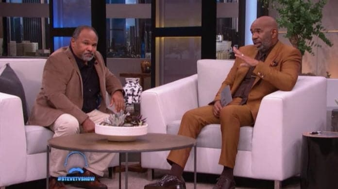 Geoffrey Owens on Steve Harvey Show thegrio.com