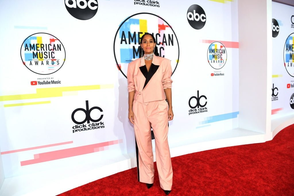 Tracee Ellis Ross celebrates black designers in 12 different looks at the American Music Awards