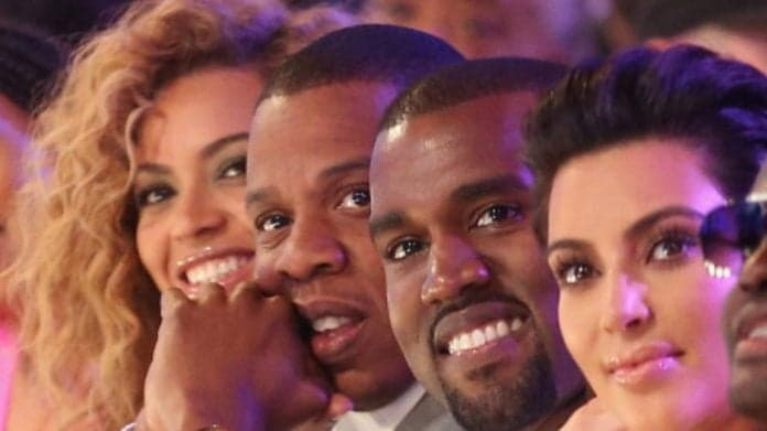 Beyonce, rappers Jay-Z and Kanye West thegrio.com