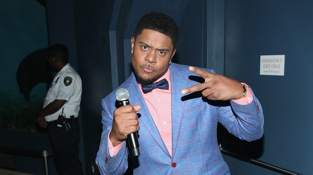 Actor Pooch Hall Charged With DUI & Child Abuse