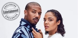 Michael B. Jordan and Tessa Thompson star on the cover of Entertainment Weekly. (EW.com) thegrio.com