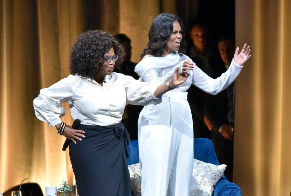 Michelle Obama Begins Arena Tour In Talk With Oprah Thegrio