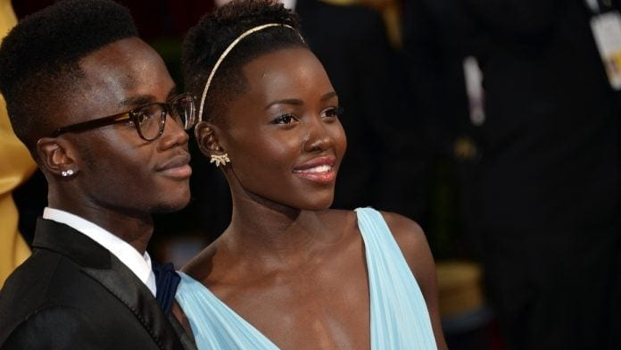 Peter and Lupita Nyong'o