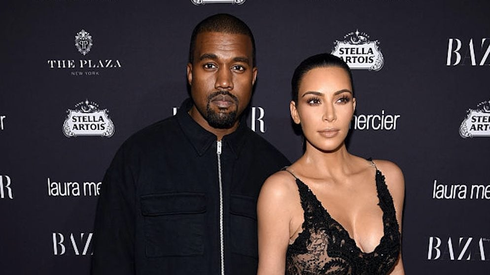 Kim Kardashian and Kanye West reveal son's name and first photo