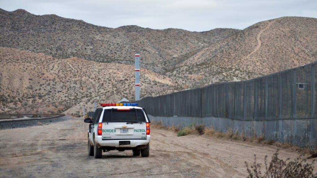 A U.S. Border Patrol agent thegrio.com