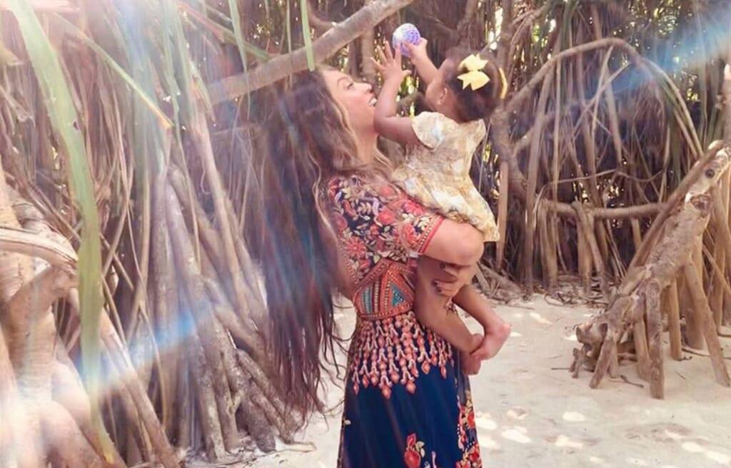 Beyoncé children Rumi British Vogue
