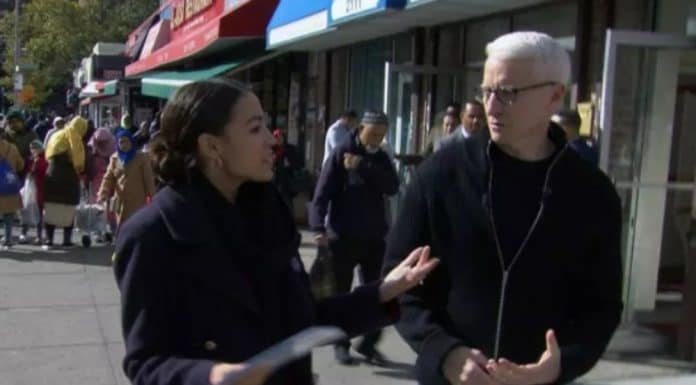 Alexandria Ocasio-Cortez talks to Anderson Cooper for 60 Minutes interview. (CBS News/60 Minutes) thegrio.com
