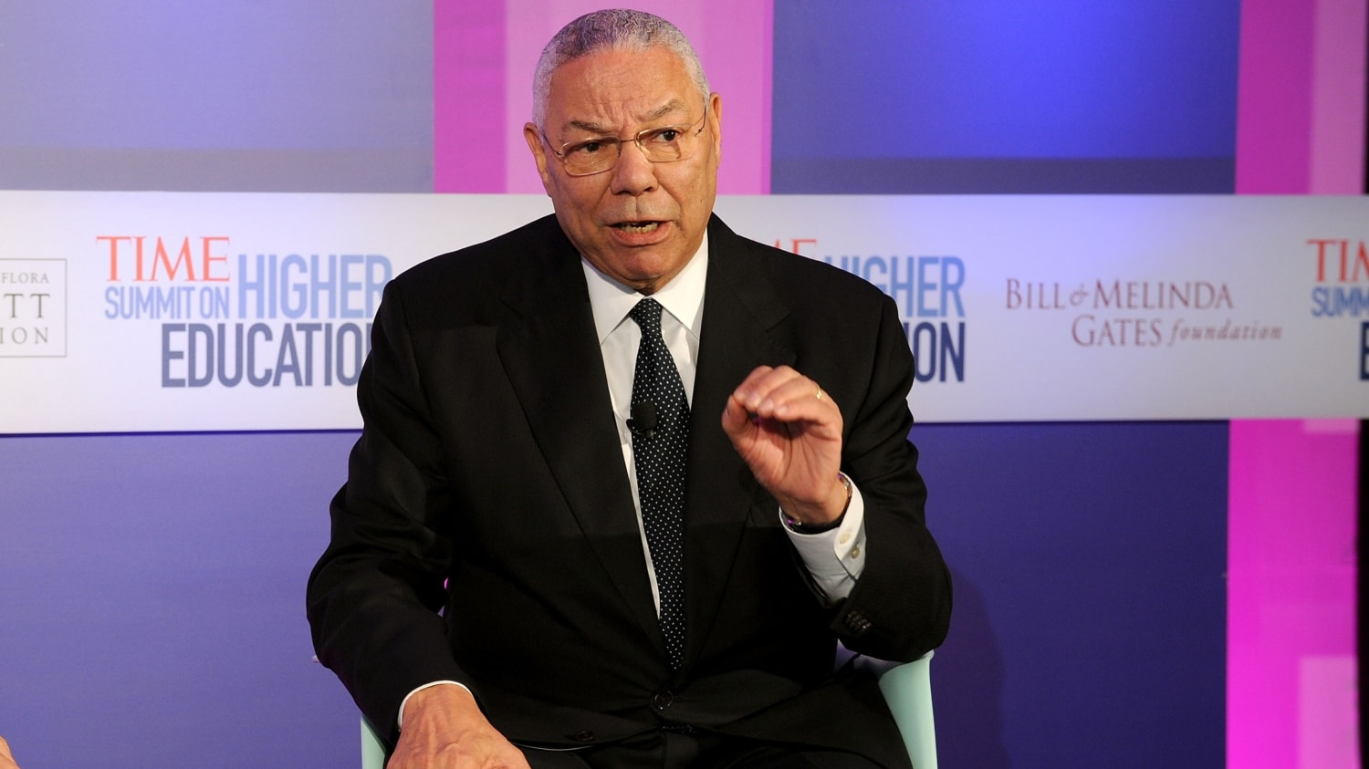 War vet with one leg rescues Gen. Colin Powell from a flat tire