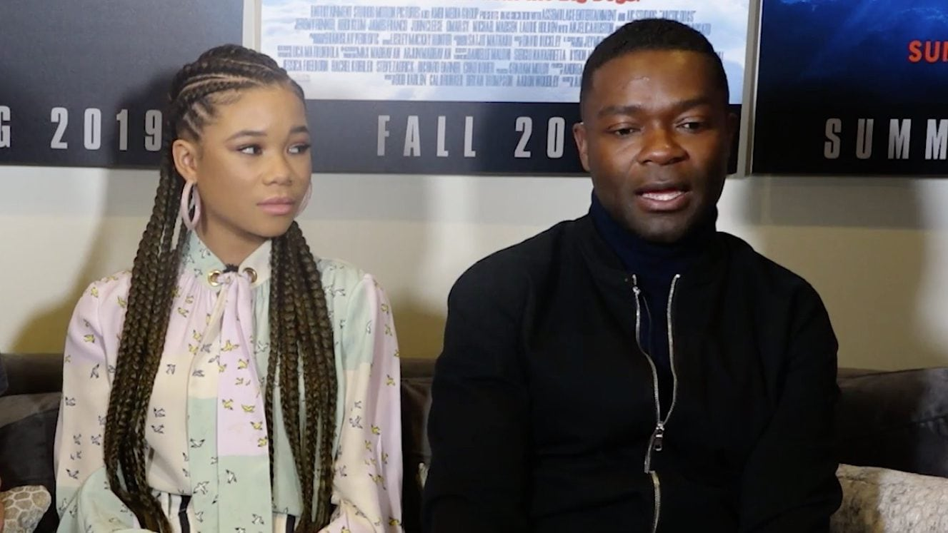 EXCLUSIVE: David Oyelowo and Storm Reid on their new
