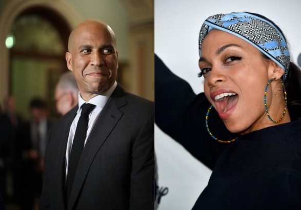 New Couple Alert: Rosario Dawson and Corey Booker spark dating rumors