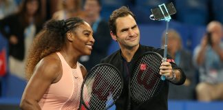 Serena Williams and Roger Federer thegrio.com