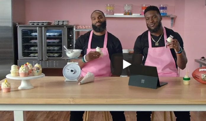 Michael Griffin and Brian Orakpo team up to launch cupcake franchise thegrio.com