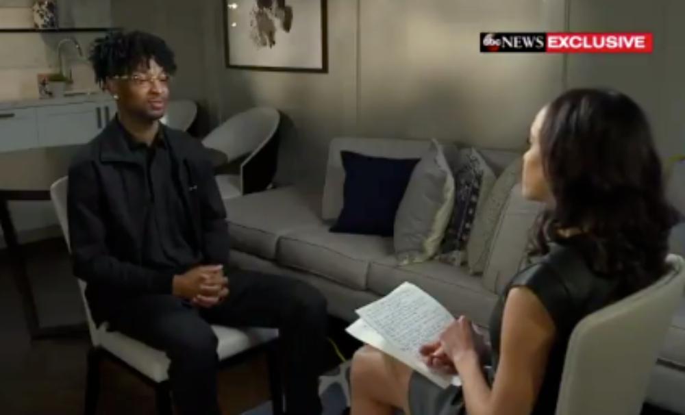 21 Savage talks to GMA about ICE arrest. (ABC NEWS) thegrio.com