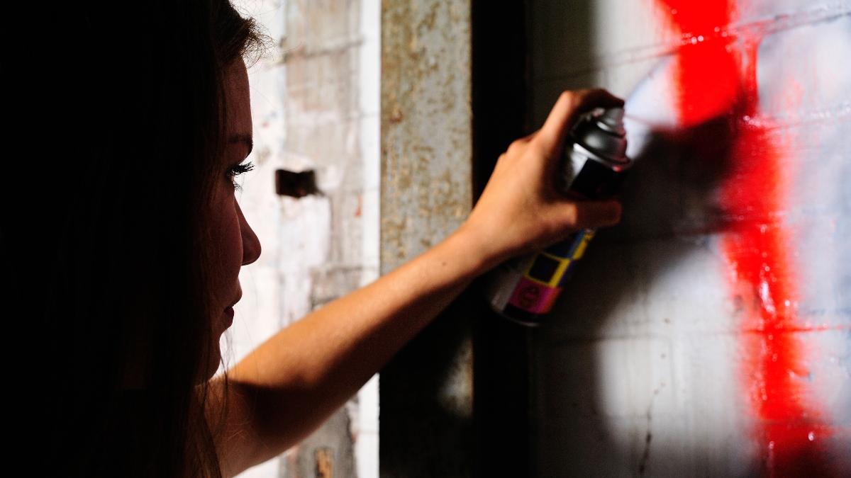 Zeta Phi Beta's Founders' Day mural defaced with racist graffiti at University of Virginia