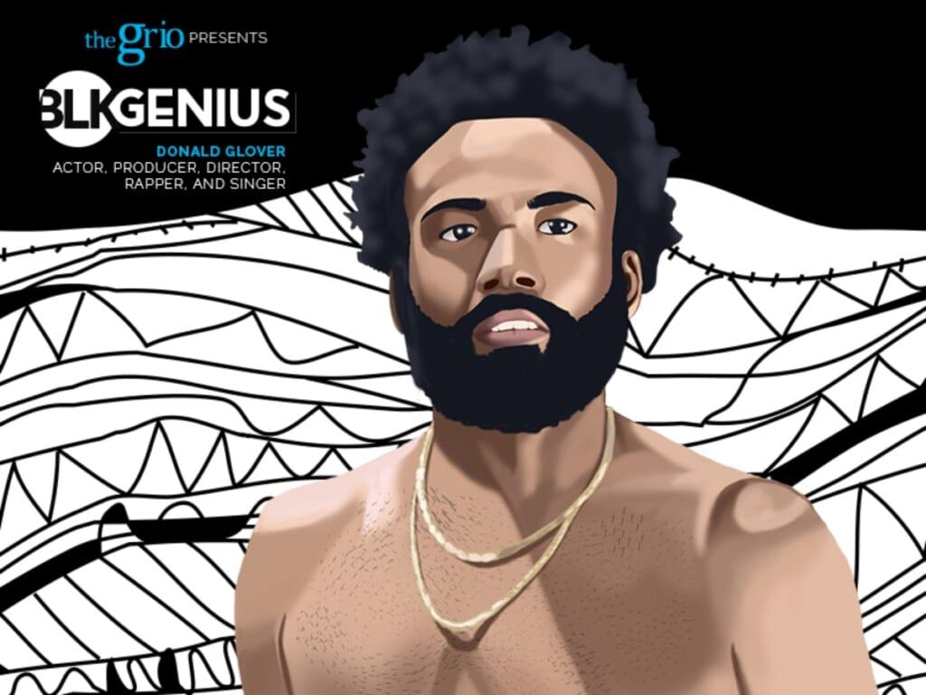 Donald Glover BLK Genius #BLKGenius thegrio.com