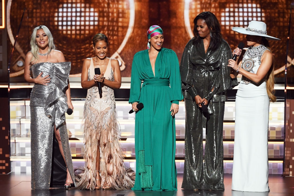 2019 Grammys: Alicia Keys Opens GRAMMYs With Help From Michelle Obama
