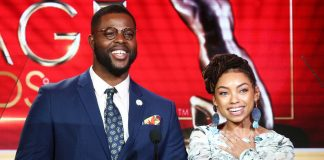Winston duke/ logan browning