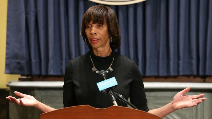 Baltimore Mayor Catherine Pugh thegrio