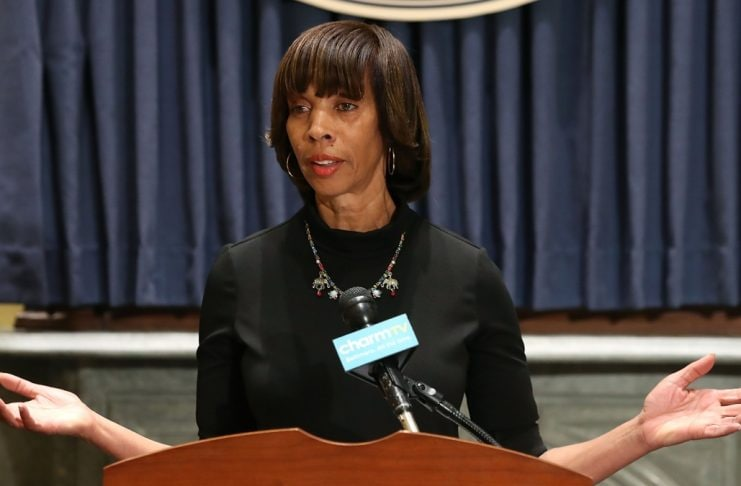 Baltimore Mayor Catherine Pugh thegrio