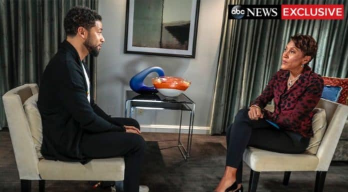 Jussie Smollett spoke with Robin Roberts on GMA for his first TV interview since his assault in Chicago. (ABC News) thegrio.com