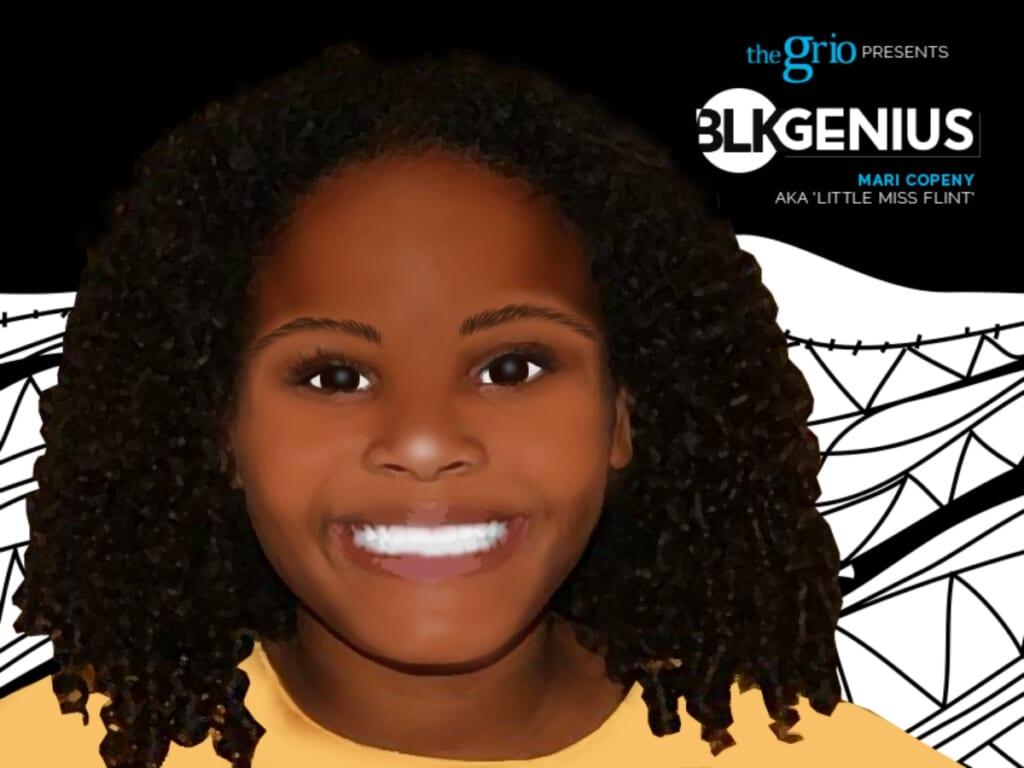 Mari Copeny (Little Miss Flint) Blk Genius