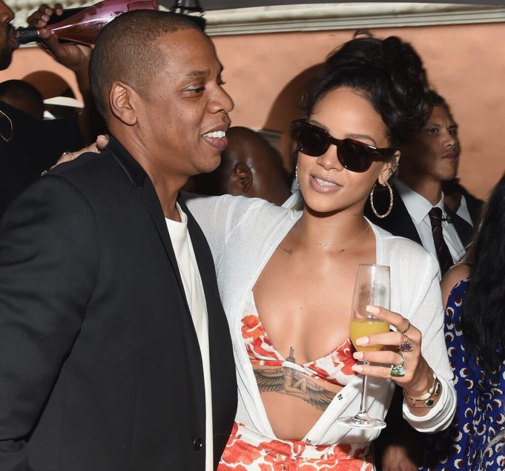 Jay-Z and Rihanna thegrio.com