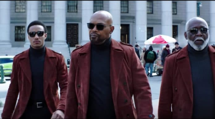 Jesse T. Usher, Samuel L. Jackson and Richard Roundtree star in Shaft. (Newline) thegrio.com