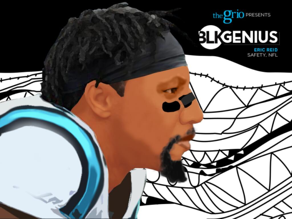 Eric Reid BLK Genius #blkgenius thegrio.com